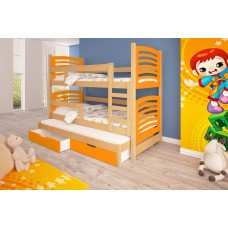 Triple trundle Bed SORIO