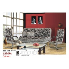 Sofa Samba chrom Set
