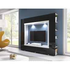 TV wall unit NOVEL in STOCK